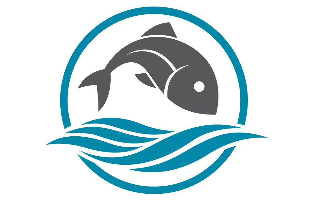 Cartoon of fish and water