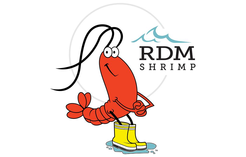 RDM Shrimp Logo