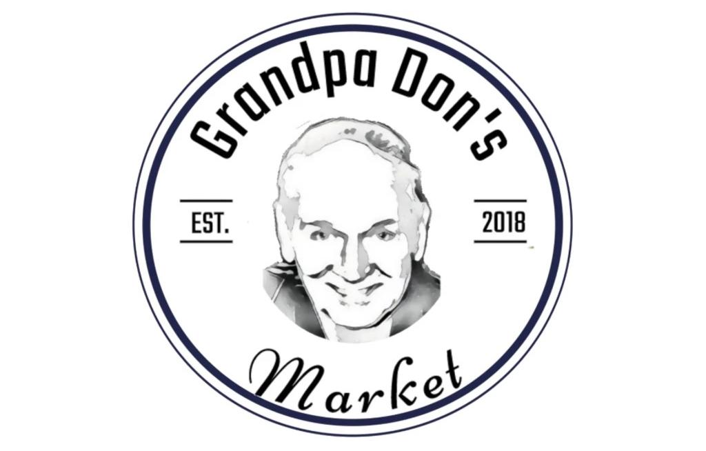 Grandpa Dons Market Logo