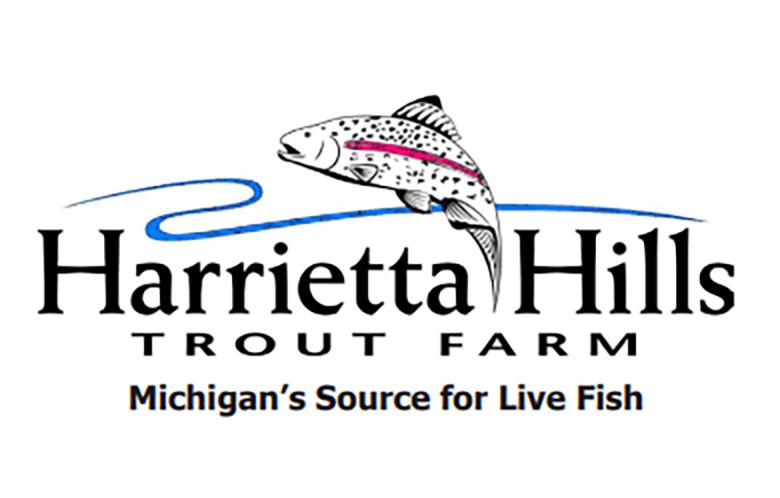 Harietta Hills Trout Farm logo