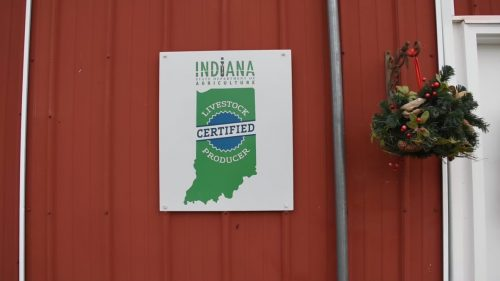 Indiana State Department of Agriculture Certified Livestock Producer logo